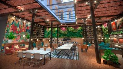 El play room del hotel The Phileas Club en San Telmo es un claro ejemplo de los espacios multiuso. Allí se puede estar conectado, por motivos laborales o personales, a través de una computadora o un dispositivo móvil. Los lugares de encuentro, de co-working, espacios verdes, son todas tendencias que la hotelería incorpora en sus espacios