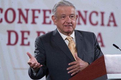 El presidente de México acusó al gobernador de Chihuahua de ser cómplices de cientos de agricultores que han tomado el control de la presa (Foto: Presidencia de México)