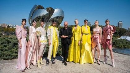 Fabián Zitta fue el diseñador encargado de abrir la semana de la moda del Designers BA primavera verano 2020 y su colección se llamó Deliq