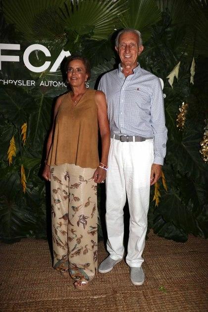 Sílvia Saravia de Neuss y Jorge Neuss
