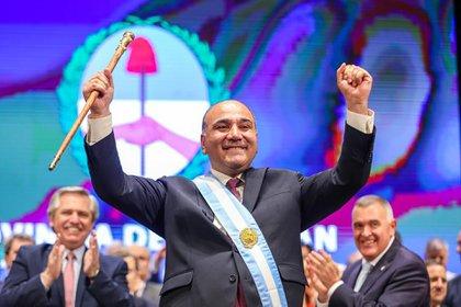 Juan Manzur, gobernador de Tucumán (Frente de Todos).