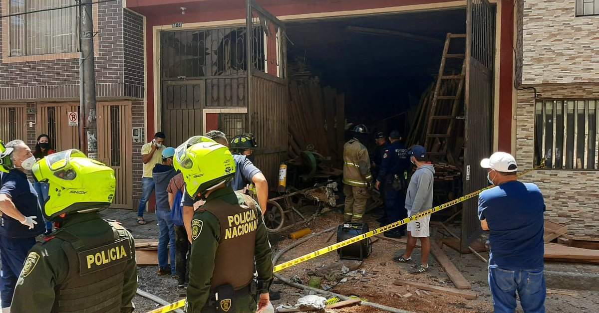 Explosion in the north of Bogotá leaves one dead and several people injured