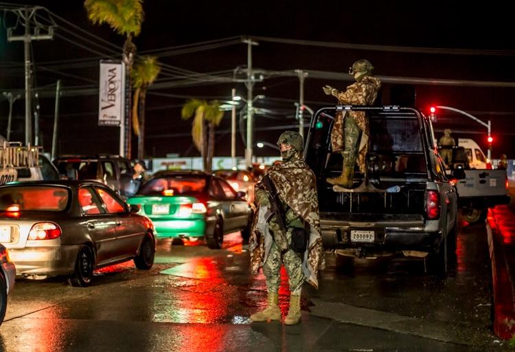 Iniciaron los operativos de seguridad en zonas de alto indice delictivo en Tijuana. (Foto: Cuartoscuro)