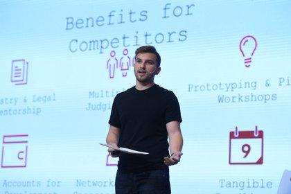 El presente concurso contó con la participación de más de 1300 startups (Maximiliano Luna)