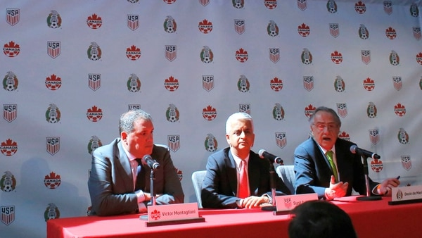 Canadá, Estados Unidos y México anunciaron su postulación para el 2026 (AFP)