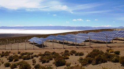 Paneles de energía solar en Jujuy
