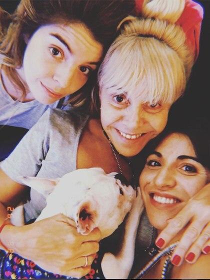 En la batalla legal entre Claudia y Diego, Dalma y Gianinna tomaron partido por su madre