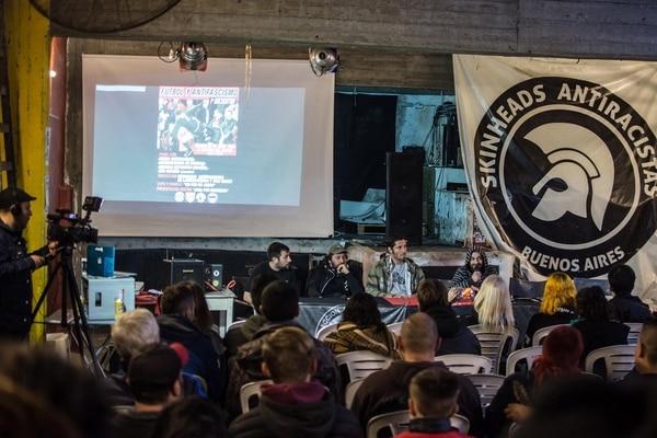 Primer encuentro Futbol y Antifascismo (Nicolas Bondarenko) Julio 2018