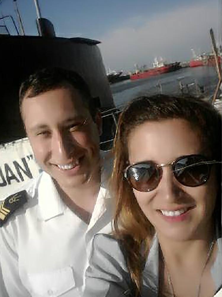 El Sonarista, Germán Suárez, junto a su esposa Itatí Leguizamón