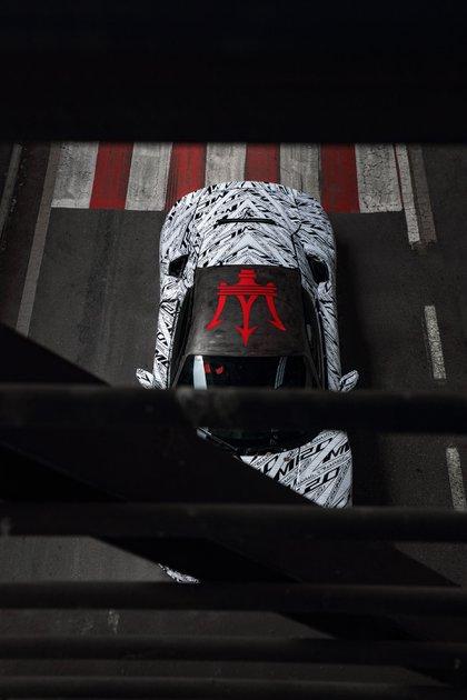 La Maserati MC20 se presentaría en septiembre: tendría más de 600 caballos y versiones híbridas y eléctricas.