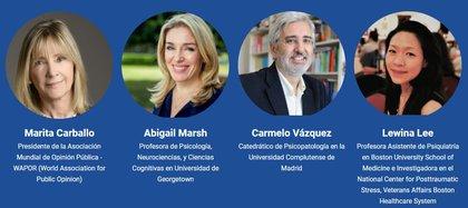 El doctor Carmelo Vázquez compartió la mesa virtual de psicología del Simposio de Ineco