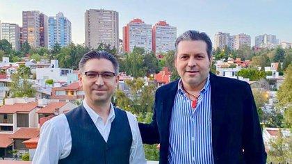 Zamora y Raether se reunieron esta semana en la Ciudad de México: el representante demócrata prometió ser el vocero de las solicitudes del senador (Foto: Cortesía del PRI)