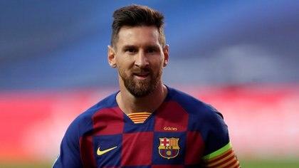 Finalmente, Lionel Messi decidió continuar en el Barcelona (Foto: Reuters)