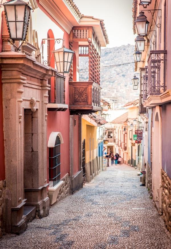 Las callecitas deLa Paz, en Bolivia, invitan al viajero a perderse