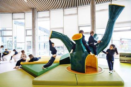 Una de las escuelas diseñadas por Rosan Bosch