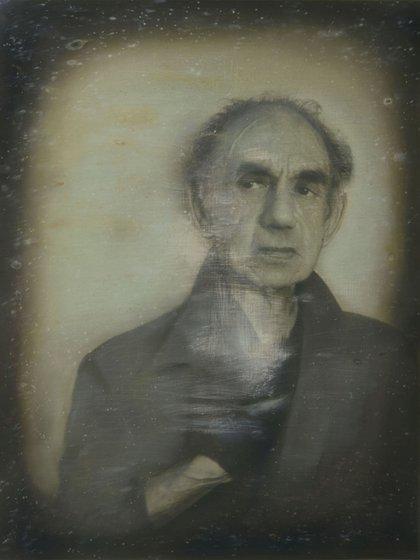 Representación del primer autorretrato: Robert Cornelius, 1839