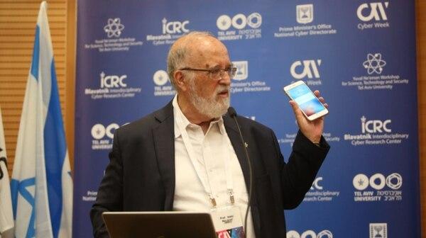 El Profesor Ben Israel en una de sus conferencias en el marco de Cyber Week en Tel Aviv, Israel