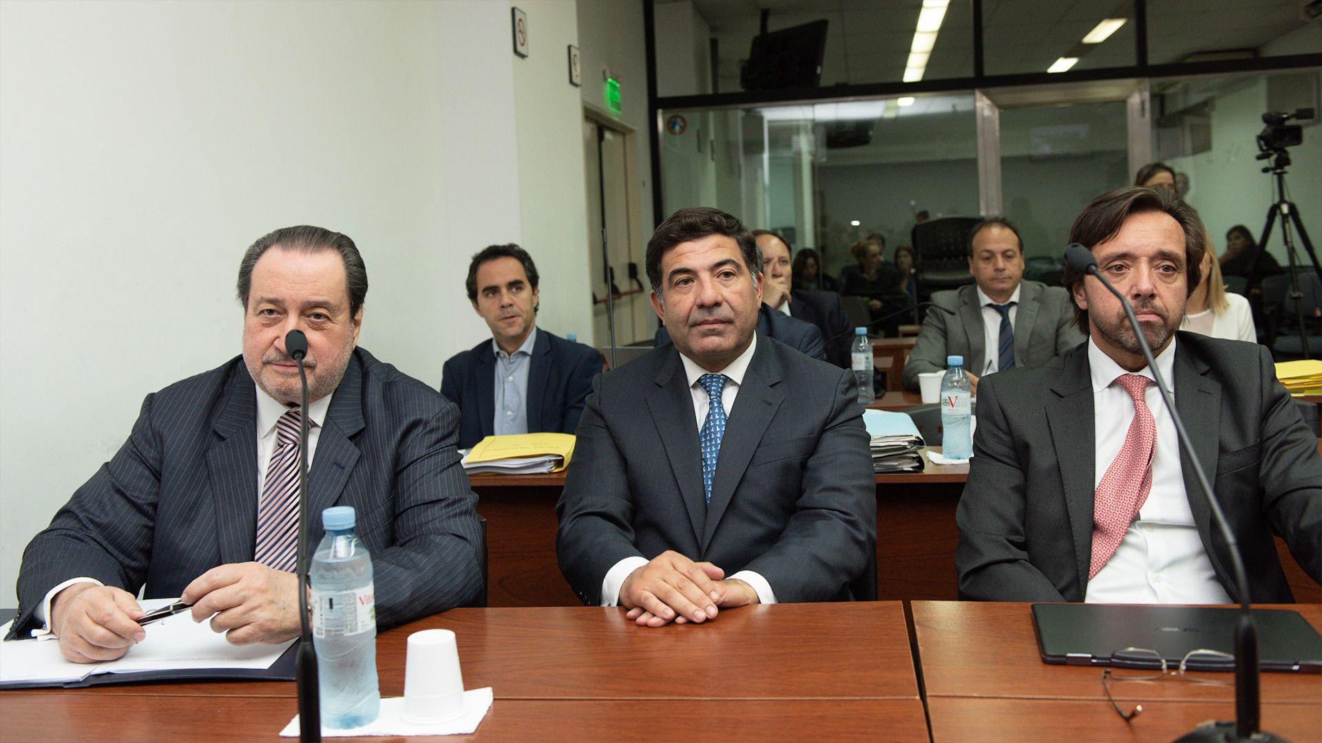 Ricardo Echegaray en el comienzo del juicio
