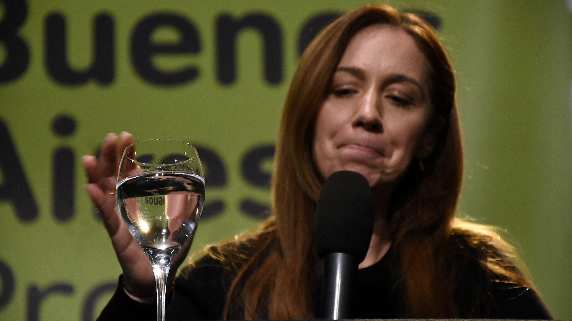 María Eugenia Vidal sufrió una dura derrota (Nicolás Stulberg)