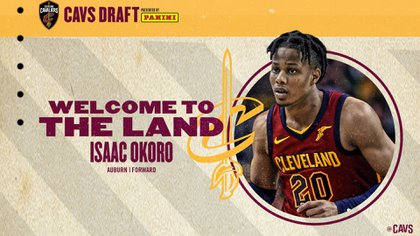 Isaac Okoro to join the Cleveland Cavaliers