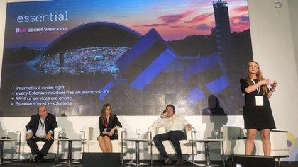 Sarav, de Estonia, explica los avances que su país realizó en la última década en materia digital