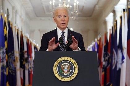 El presidente de Estados Unidos, Joe Biden, invitó a 40 líderes mundiales a la cumbre sobre cambio climático que tendrá lugar el próximo 22 de abril a través de una video conferencia (Foto/ALEX WONG)