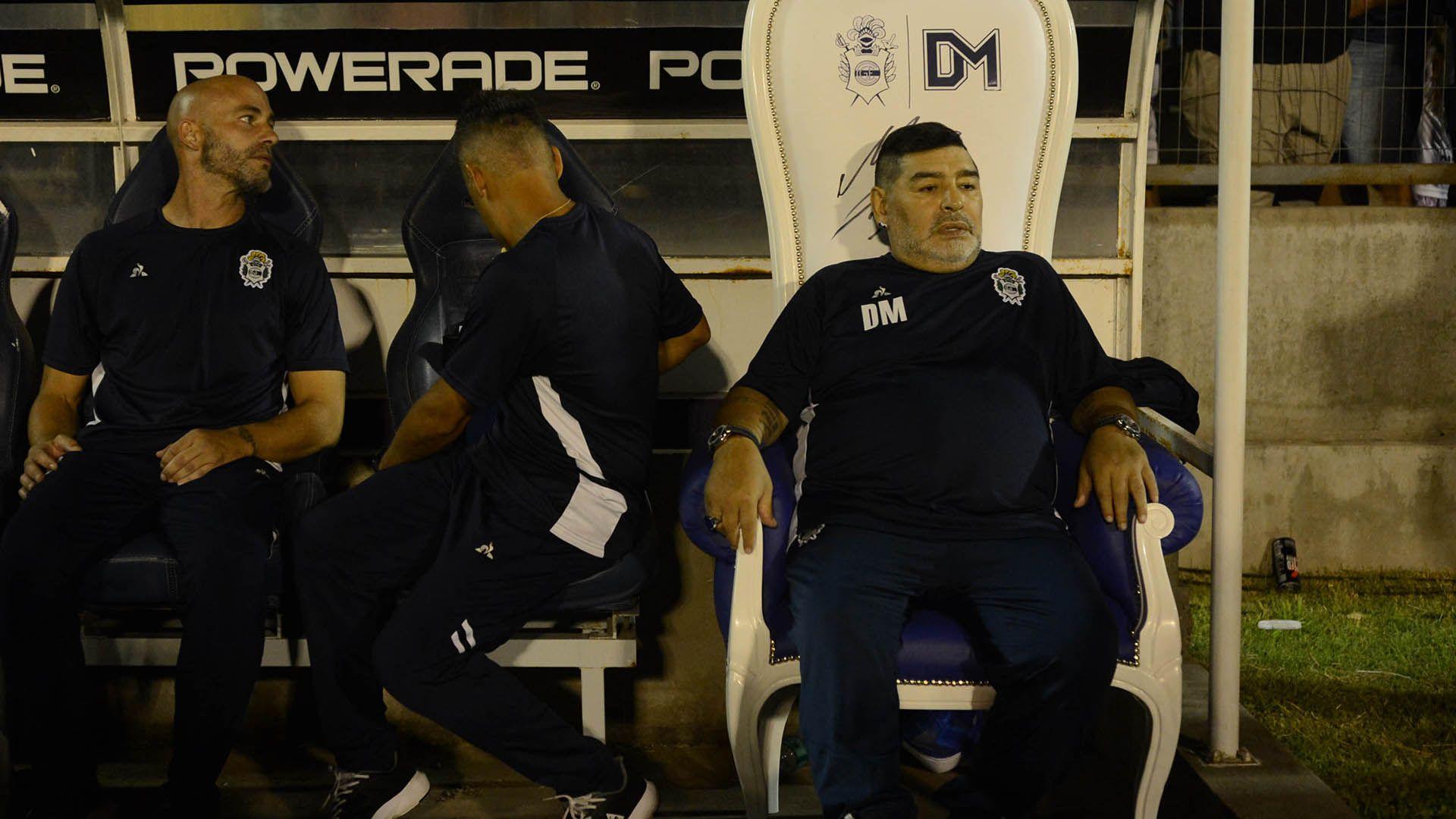 Sebastián Méndez Diego maradona