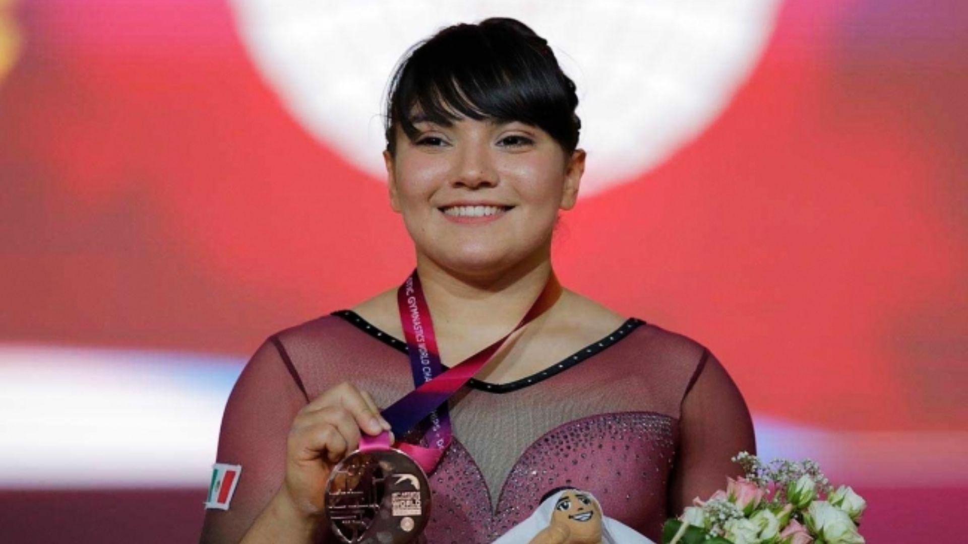 Alexa fue víctima de bullying por su peso en los Olímpicos de Río 2016, posteriormente participó en Tokio 2020 (Foto: Notimex)