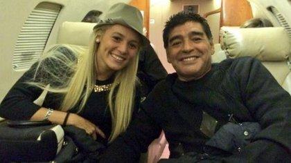 Rocío Oliva y Diego Maradona estuvieron juntos siete años