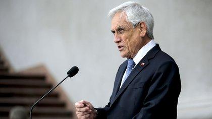 Sebastián Piñera, presidente de Chile (Photo by JAVIER TORRES / AFP)