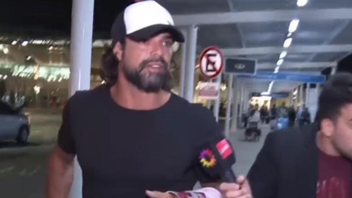 c31e90a3d7 Luciano Castro regresó de las vacaciones con Sabrina Rojas y se molestó con  un cronista