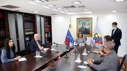 Los miembros del flamante Consejo Nacional Electoral de Venezuela,  REUTERS/Manaure Quintero