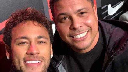 Ronaldo habló sobre el rendimiento de Neymar en el Mundial de Rusia 2018