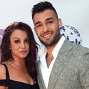 Mandatory Credit: Photo by MediaPunch/Shutterstock (10419795b) Britney Spears and Sam Asghari The Daytime Beauty Awards, Arrivals, Los Angeles, USA - 20 Sep 2019