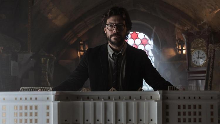 "Álvaro Morte en ""La Casa de Papel 3"""