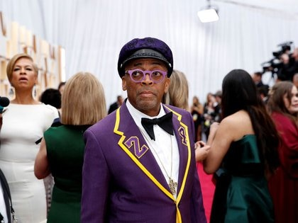 Director Spike Lee at the Oscars, Los Angeles, USA, February 9, 2020. REUTERS / Mike Blake