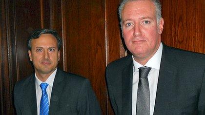 Los jueces Amarante y Yadarola (Foto: Consejo de la Magistratura de la Nación)