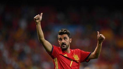 David Villa le dijo adiós al fútbol (Foto: AFP)