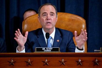 El representante Adam Schiff, demócrata de California y presidente del Comité de Inteligencia de la Cámara de Representantes (Andrew Harrer/Pool vía REUTERS)