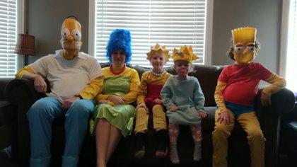 Los Sutherlands, de Ontario, Canadá, se divirtieron como en Springfield (Foto: Captura de pantalla)