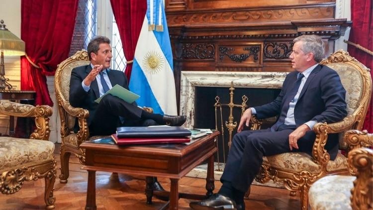 Sergio Massa ocupará el lugar de Emilio Monzó y será presidente de la Cámara de Diputados