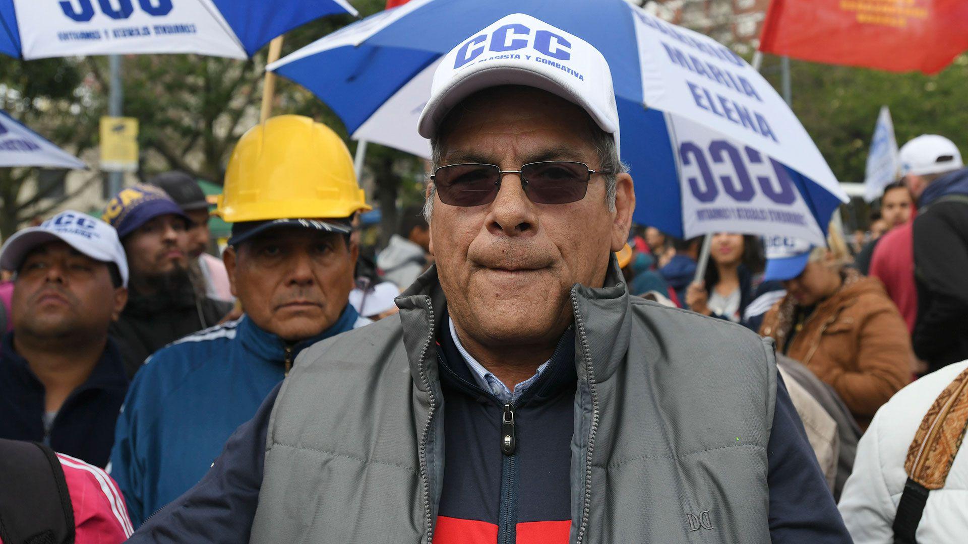 """Juan Carlos Alderete: """"Nosotros no estamos dispuestos a hacer seguimiento, a levantar la mano. Nosotros no somos aplaudidores de nadie"""" (NA)"""