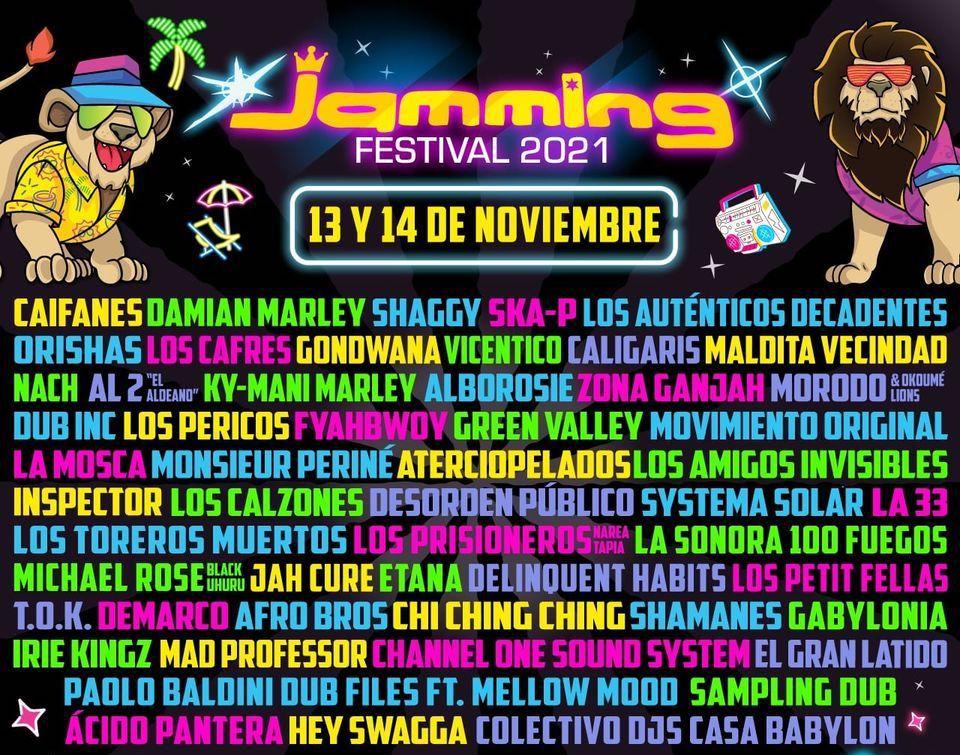 El mayor festival de la escena reggae en Colombia tendrá lugar en noviembre de 2021.