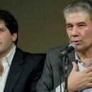 Victor Hugo Morales con Julián Capasso