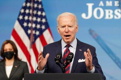 The President of the United States, Joe Biden.  Reuters / Kevin Lamarck