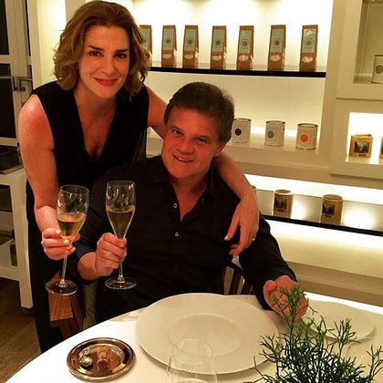Pérez Volpin estaba en pareja, desde 2011, junto al periodista Enrique Sacco