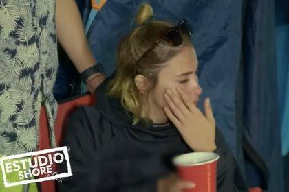 """Fer terminó llorando durante su """"juicio"""" (Captura de YouTube)"""