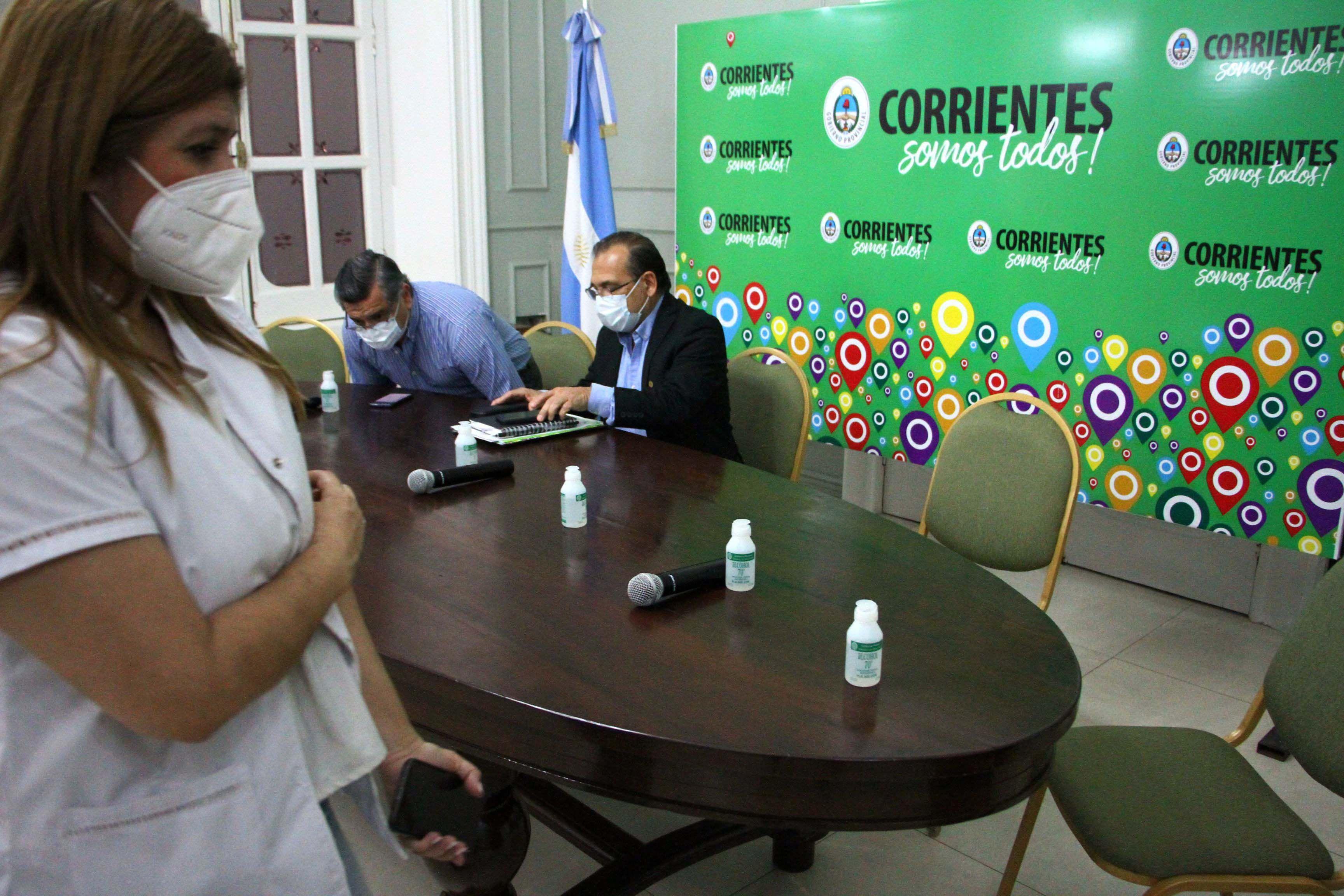 Corrientes-Brote de COVID-19