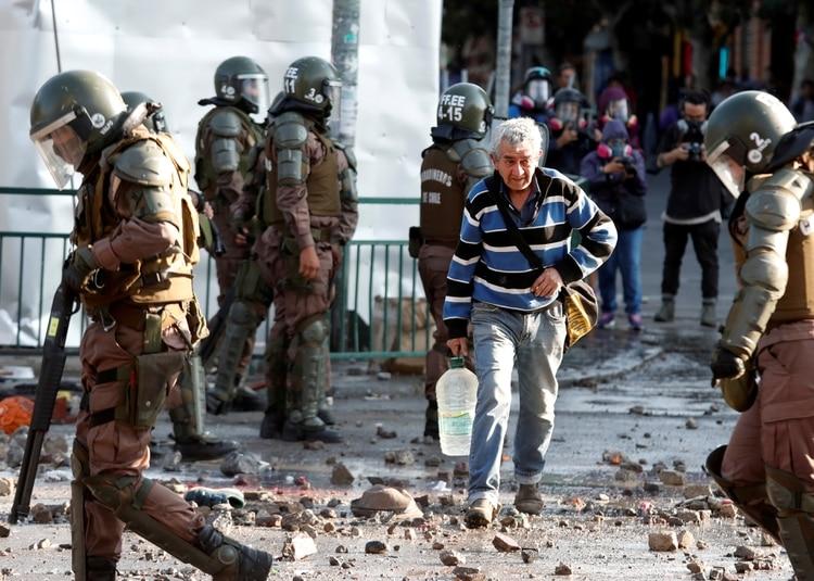 Manifestaciones en Chile (REUTERS/Goran Tomasevic)