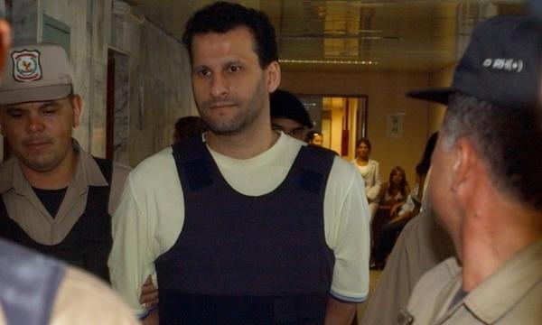 Assad Ahmad Barakat, en una detención anterior en Paraguay (Foto Archivo)
